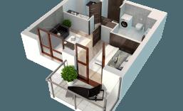 B123 | 1 pokój, 27,71m