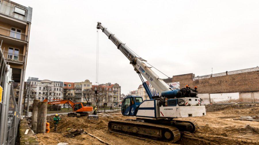28 LISTOPAD 2014 Kamienica Jeżyce - Budowa