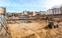 15 STYCZEŃ 2015 Kamienica Jeżyce - Budowa