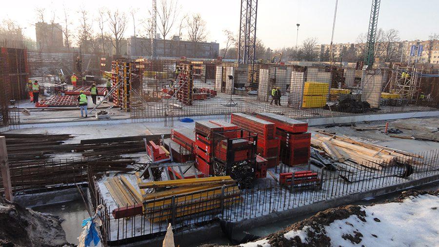 Zdjęcie z budowy